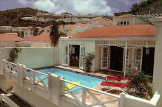 Villa Madeleine Resort Vacation Villa Condos sits between 2 St. Croix sandy beaches.